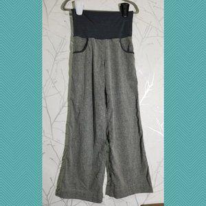 Lululemon Gray Hemp Blend High Rise Wide Leg Pants